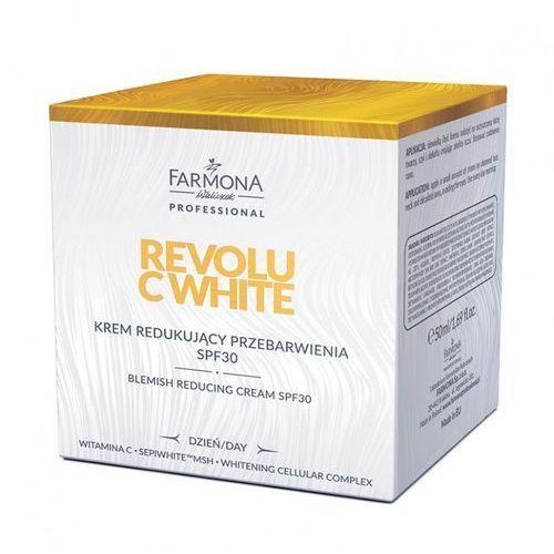 Revolu c white krem redukujacy przebarwienia spf30 50ml (dzień) marki Farmona professional