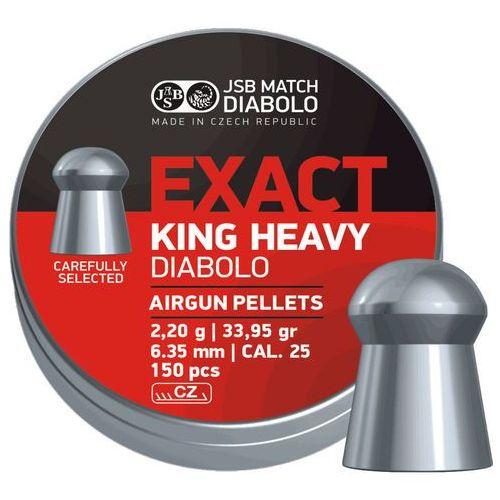 Jsb Śrut  diabolo exact king heavy 6.35mm 150szt (546398-150) (2010000138564)