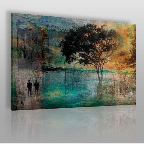 Wieczne drzewo miłości - nowoczesny obraz na płótnie marki Vaku-dsgn