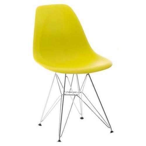 Krzesło P016 PP inspirowane DSR - zielony ciemny, 24210