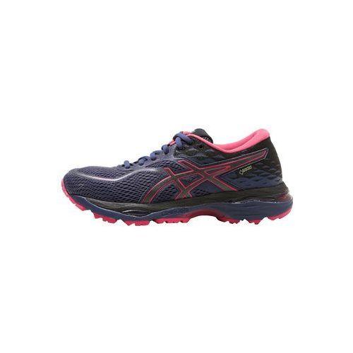 ASICS GELCUMULUS 19 GTX Obuwie do biegania treningowe indigo blue/black/cosmo pink, kolor niebieski