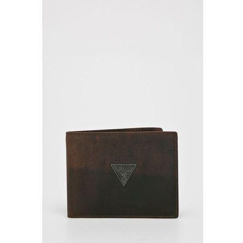 - portfel skórzany clermont marki Guess jeans