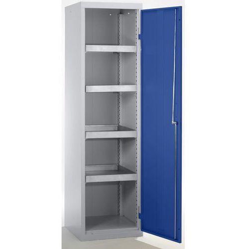 Stumpf-metall Szafa ekologiczna, drzwi zamknięte, wys. x szer. x głęb. 1800x500x500 mm, 4 półk