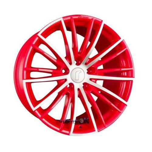RONDELL 08RZ Racing Rot Poliert Einteilig 8.50 x 19 ET 47