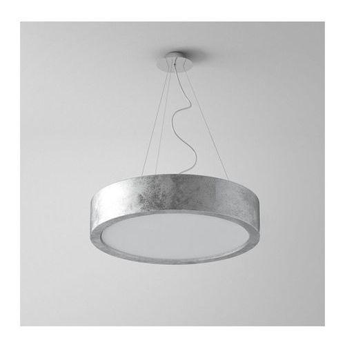 Cleoni Lampa wisząca omega 360 2xe27 schlagmetal srebrny żarówki led gratis!, 1570/944