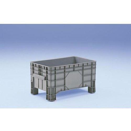 Capp-plast Duży pojemnik z polietylenu, poj. 220 l, 4 nogi do podjeżdżania, od 1 szt. oszcz