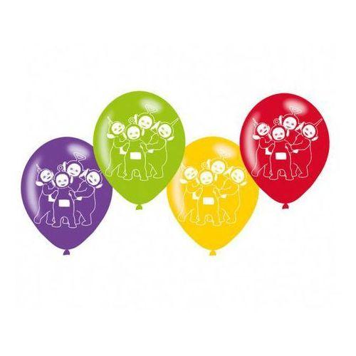 Balony urodzinowe Teletubisie - 23 cm - 6 szt (0013051691462)