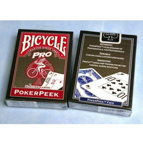 : pro - poker peek marki Bicycle