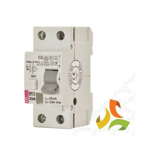 Wyłącznik różnicowoprądowy Eti 2P 40A 0,03A typ AC EFI6-2 002062133 (3838895548218)