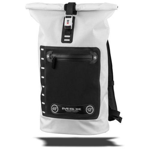 Mainstream MSX BackPack 48° Plecak 25l Clean Ripstop biały/czarny 2018 Plecaki szkolne i turystyczne, kolor biały