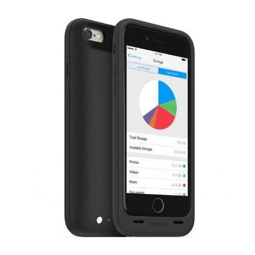 Mophie  space pack 32gb iphone 6/6s (czarny) (0810472030012)