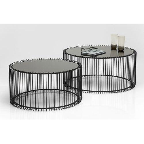:: zestaw 2 stolików wire black marki Kare design