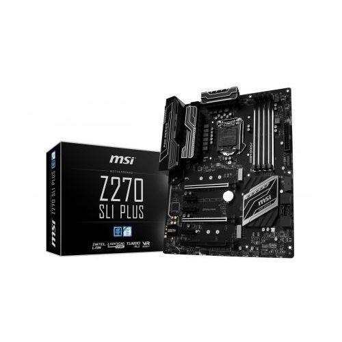 MSI Z270 SLI PLUS (3xPCI-E DDR4 USB3.1/M.2)