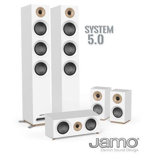 s 809 hcs - zestaw kolumn kina domowego 5.0 marki Jamo