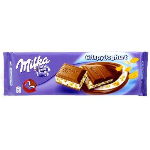 MILKA 300g Czekolada mleczna z nadzieniem jogurtowym (crispy joghurt)