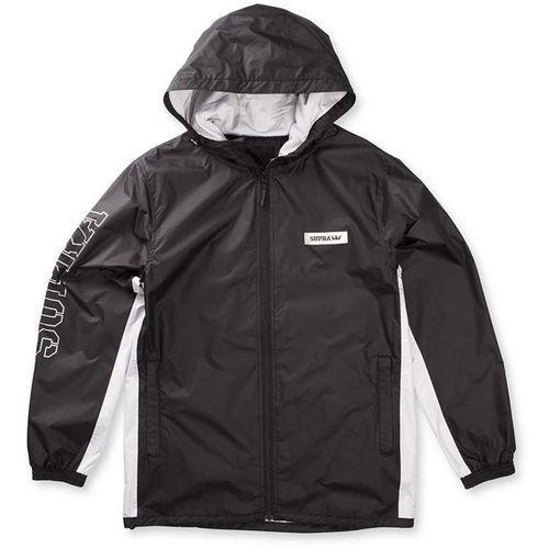 kurtka SUPRA - Wind Jammer Jacket Black/Light Grey (098) rozmiar: M, kolor czarny