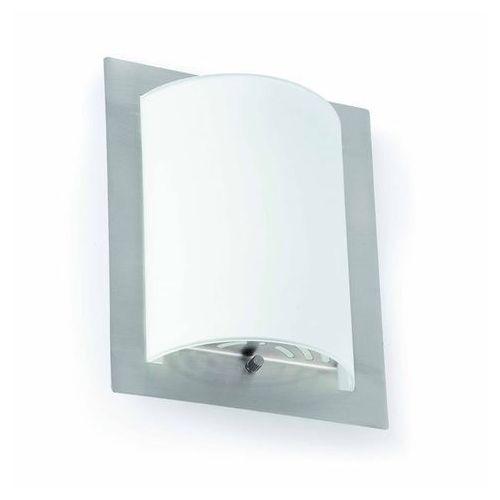 Diula-kinkiet ścienny szkło szronione & metal dł.20cm marki Faro