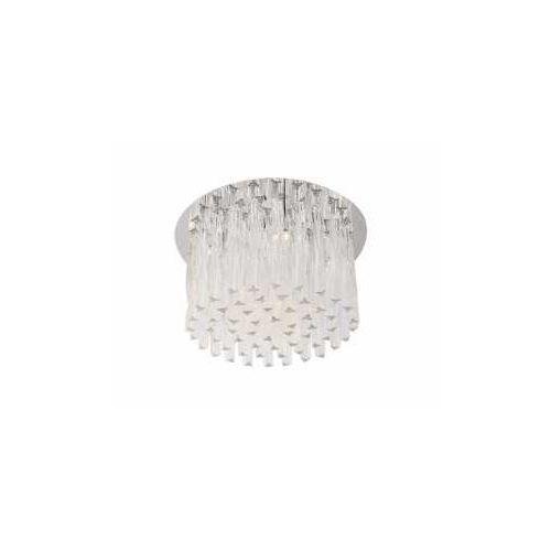 MAXlight Bilbao 3817/10C Plafon lampa sufitowa 10x20W G4 chrom / przezroczysty, 3817/10C