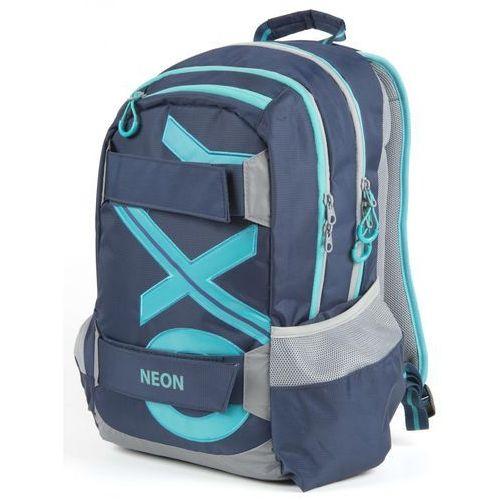 Karton P+P Plecak anatomiczny OXY SPORT, niebieski, kolor niebieski