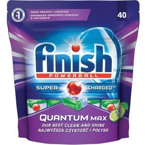 Finish Tabletki do zmywarek quantum max jabłko i limonka 620 g (40 sztuk) (5997321733449)