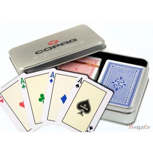 Karty COPAG 4 PR - SPRING - pokerowe 4 kolory - 100% plastik Karty COPAG 4 PR - SPRING - pokerowe dual indeks - 100% plastik