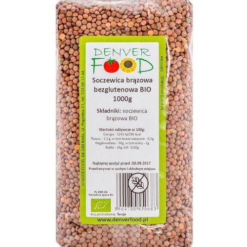 Denver food Soczewica brązowa bezglutenowa bio 1 kg