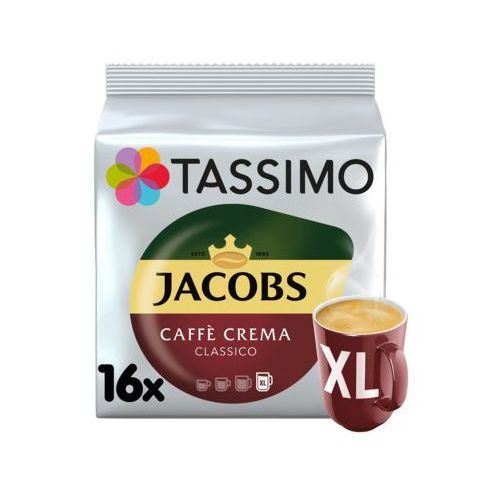 Kapsuły TASSIMO Jacobs Caffe Crema XL (7622210038012)