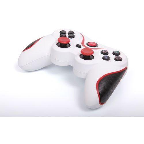 Kontroler 1BANDIT A8 PS3 Biało-czerwony