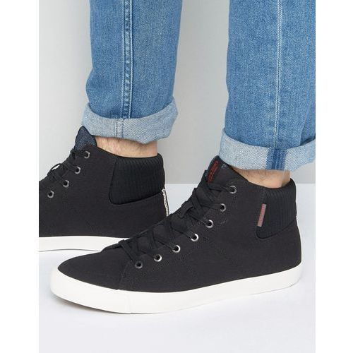 dunmore hi top trainers - black marki Jack & jones