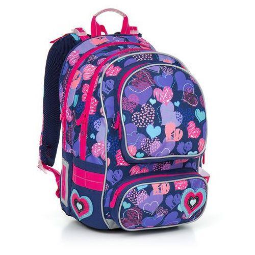Plecak szkolny  chi 804 h - pink marki Topgal