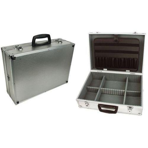 Brüder mannesmann walizka na narzędzia z organizerem, aluminium, 214-1