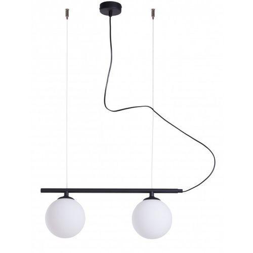 Aldex beryl glass 1006h1 lampa wisząca sufitowa zwis 2x40w e14 czarna