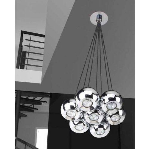LAMPA wisząca GULIA 7 FH5957-BJ-120 CH Azzardo żyrandol OPRAWA halogenowa kule ball chrom - sprawdź w wybranym sklepie