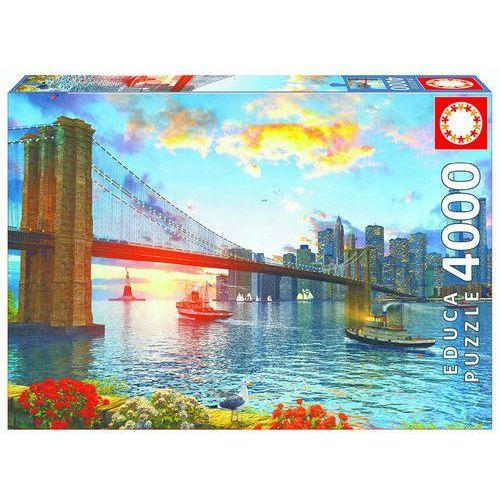 Puzzle Most Brookliński, Nowy York 4000 (8412668167827)