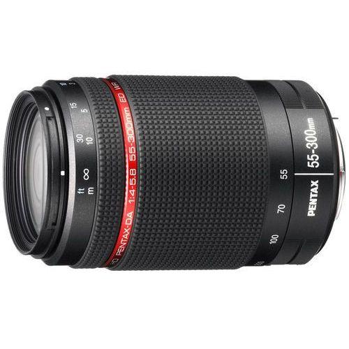 Pentax HD DA 55-300mm f/4-5,8 ED WR - przyjmujemy używany sprzęt w rozliczeniu   RATY 20 x 0%