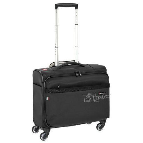 Roncato venice 2.0 mała walizka kabinowa 42 cm / pilotka na laptopa 17'' / tablet 10'' / czarny (8008957367704)