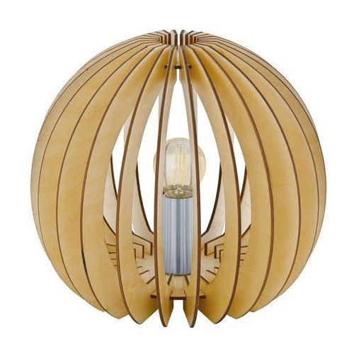 Eglo cossano lampa stołowa jasne drewno, 1-punktowy - nowoczesny - obszar wewnętrzny - cossano - czas dostawy: od 8-12 dni roboczych