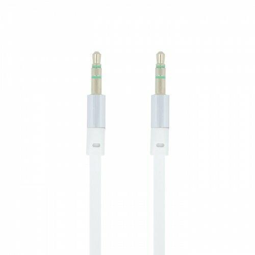 Forever Kabel audio jack 3,5 mm biały (5900495542106)