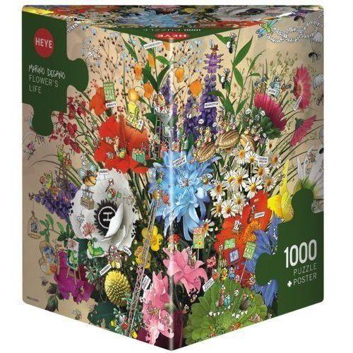 1000 ELEMENTÓW Kwiatowe życie (4001689297879)