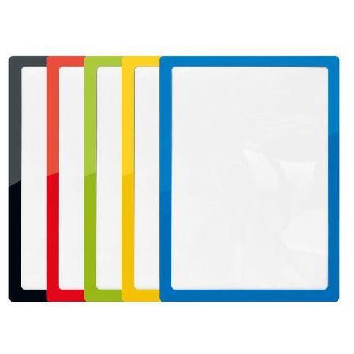 Ramka pocket pad a4 żółta x1 marki Artykuły konferencyjne