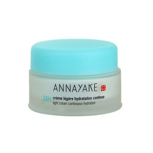 24h hydration lekki krem o dzłałaniu nawilżającym (light cream continous hydration) 50 ml marki Annayake