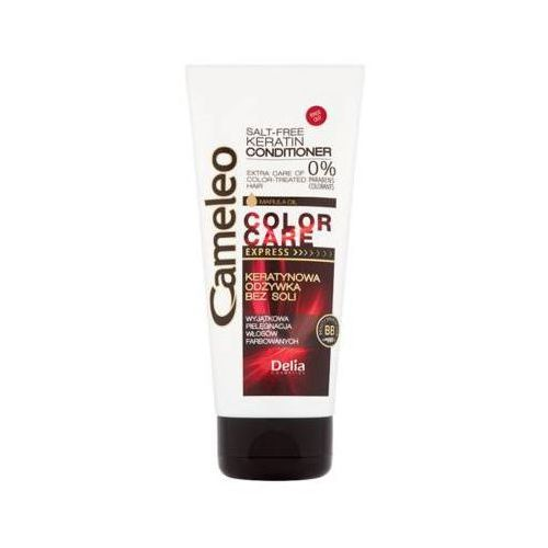 DELIA 200ml Cameleo Ekspresowa odżywka keratynowa do włosów farbowanych