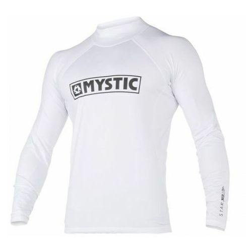 Mystic Lycra star rashvest junior l/s white 2020