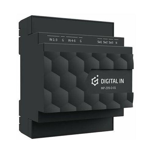 Grenton Grenton 2.0 DIGITAL IN 6+3 Moduł wejść cyfrowych DIN TF-Bus INP-209-D-01 - Autoryzowany partner Grenton, Automatyczne rabaty., INP-209-D-01