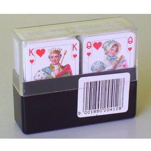 Piatnik Karty do gry 2 talie minipasjans