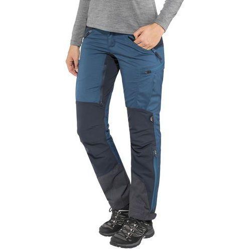 Lundhags makke spodnie długie kobiety regular niebieski 42-standardowe 2018 spodnie turystyczne