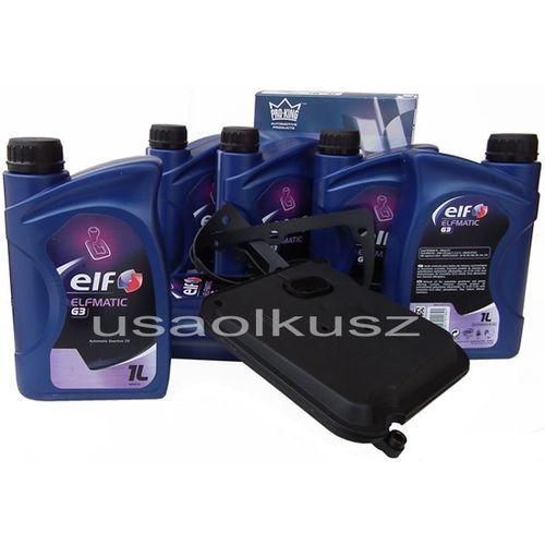 Filtr oraz olej g3 automatycznej skrzyni biegów dodge nitro 3,7 marki Elf