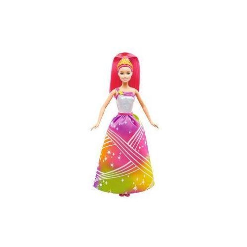 Lalka tęczowa księżniczka ze światełkami marki Barbie