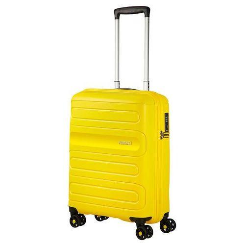 American tourister sunside mała walizka kabinowa 20/55 cm / żółta - sunshine yellow (5414847861727)