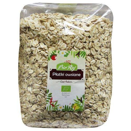 Bio raj (konfekcjonowane) Płatki owsiane bio 1 kg bio raj (5907738152528)
